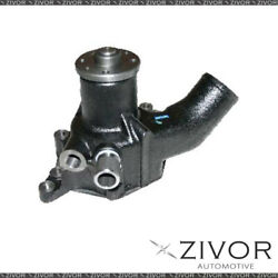 Protex Water Pump For Isuzu Jcr/jcs And Turbo 2 Heater Hoses 1981 On By Zivor