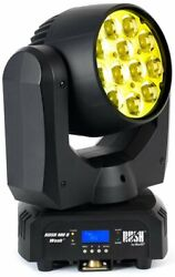 Martin Pro Rush-mh-6 12x10w Rgbw Led Moving Head Wash With Zoom