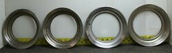 Oem Ford Set 16 1/2 X 6 Beauty Trim Rings D2uz1210a 1972-96 E/f 100 250 350w/c