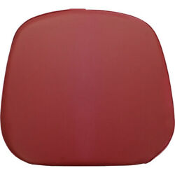 Claret Vinyl Seat Bottom Cushion For Oliver White 1650 1850 2-105 2-155 Tractor