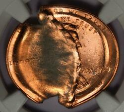 2000 Ngc Ms67rd Double Struck Indent Mushroom Cent Mint Error Dated 2000000