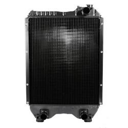 82013306 New Tractor Copper / Brass Radiator Fits Ford Tm115 Tm125 8160 +