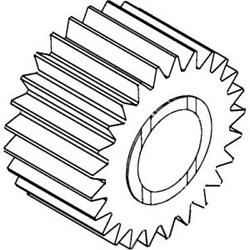 A168175 Planetary Gear Fits Case-ih Tractor Models 1270 1370 1570 2390 2394 2590