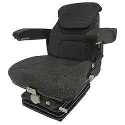 Fam1270 Fabric Tractor Seat Assembly Kit W/ Arms