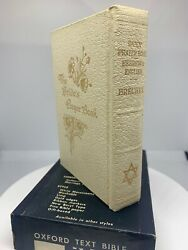Oxford Vintage Bride's Prayer Book - White Leather With Box