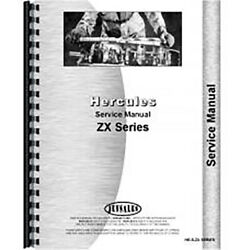 New Engine Service Manual For Hercules Engines Zxb