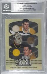 2003 Itg Be A Player Ultimate Memorabilia 4th Edition /30 Bobby Orr Bgs Encased