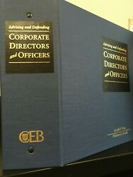 Corporate Directors And Officers 1999 Ceb