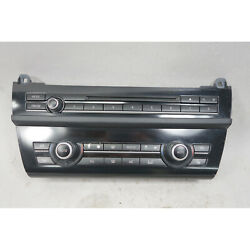2011-2013 Bmw F10 5-series Climate Control And Radio Head Unit Interface Panel