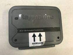 Raymarine Acu-100 Actuator Control Unit E70098 Used / Good Condition / Sold As P