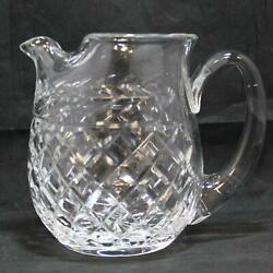 Waterford Crystal New Vintage Old Glandore Ice Lip Pitcher Jug Hand Made