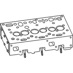 3637486m91 Universal Fit Tractor Cylinder Head 47p21