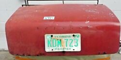 Used Oem ... '62 - '68 Triumph Tr4 - Tr4a Trunk Assembly W/ Reinforcement  G915