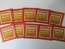 Lot Of 10 Rare Unused National Pale Dry Ginger Ale Soda Labels Bayonne, Nj
