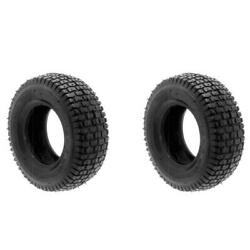 2 16x650x8 16x6.50x8 16x6.50-8 Turf Tires 2 Ply Tubeless Tractor Rider Mower
