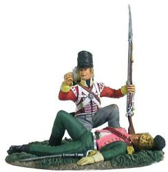 W. Britain Napoleonic 36125 British 44th Foot Looting French Lancer Officer