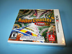 Rollercoaster Tycoon 3d Roller Coaster Nintendo 3ds Xl 2ds New Sealed
