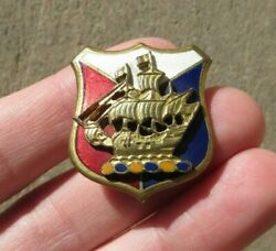 27th Division Us Army Military New York State National Guard Headquaters Di Pin