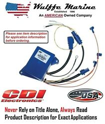 Cdi 113-4808 Power Pack 3 Cylinder Johnson Evinrude 25 40 50 60 65 70 Hp