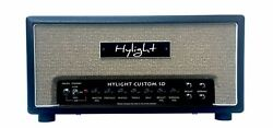 Hylight Custom Sd Head Mod. Vr204h. New Completely Uk-made Hand-wired Amplifiers
