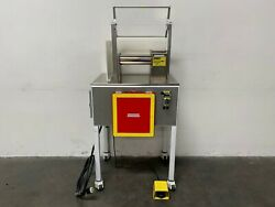 Stainless Steel Two Roll Lab Mill W/ 1 Hp Motor On Rolling Cart 208-460v