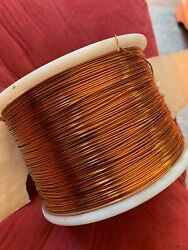 Phelps Dodge 11 Lbs Armored Poly Thermaleze Magnet Wire Spool 16awg 57-1192-a