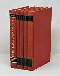 Quarter Racing Stakes Horses 1949-1971 Five Volumes Reference Renee Smelker