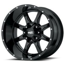 22 Inch Black Wheels Rims Lifted Chevy 2500 3500 Dodge Ram Ford Truck 22x12 New