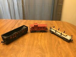Old Vintage Lionel Metal Trains From 50's