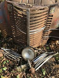 1946 47 48 International Harvester Kb-1 Grille Fenders And Chrome Grille Covers