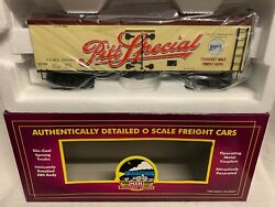 ✅mth Premier Fort Pitt Special Beer Wood Side Reefer Car Pittsburgh Brewing