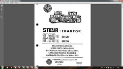 Steyr 8150 8170 Tractor Parts Catalog In Pdf Format