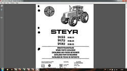 Steyr 9155 9170 9190 Tractor Parts Catalog In Pdf Format