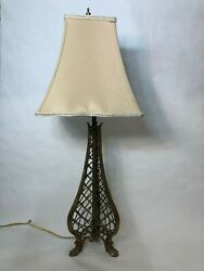 Geneand039s Fine Art Furniture And Lighting Gallery Bronze Wire Tower Table Lamp 23 T