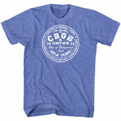 Cbgb 315 Bowery Logo Men's T Shirt Home Of Underground Rock Official Omfug Nyc