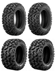 New Complete Set Of Sedona Rip-saw R/t Tires - 2002-2008 Yamaha 660 Grizzly