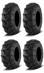Complete Set Of Itp Mud Lite Ii Tires - 2015-2016 Can-am Outlander L 450 Dps