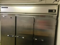 Victory 3 Door Nsf Food Refrigerator Works Right 120 Volts With New Compressor