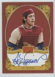 2013 Panini Golden Age Historic Signatures Ted Simmons Ts Auto Hof