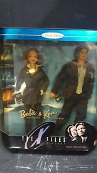 Mattel Barbie Ken The X-files Gift Set Fight The Future Mulder Scully Fox Agent