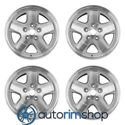 New 16 Replacement Wheels Rims For Jeep Liberty 2002-2007 Set