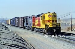 Railroad Print Southern Pacific Sp Spsf Freight Action Emd Gp9e Locomotive 3370