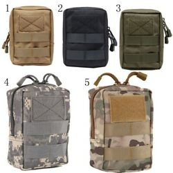 New Outdoor Tactical EDC Molle Pouch Belt Waist Medical First Aid Emergency Bag
