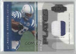 2003 Playoff Honors Plates /40 Marvin Harrison Pp-29 Hof