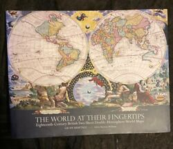 World At Their Fingertips 18th-century British Two Sheet Double Hemisphere Maps