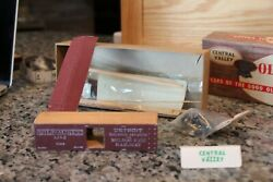 Central Valley B-911 D.g.h.and Milw.old Time 36' Truss-rod Box Car 1122 Kit 1/87