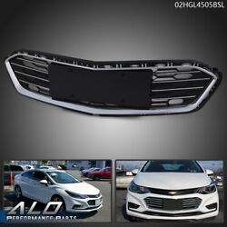 Front Bumper Lower Middle Grille Fit For 2016 2017 2018 Chevrolet Cruze Sedan