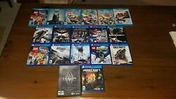 Wii U Ps4 And Pc Game Lot. Selling Games Individually