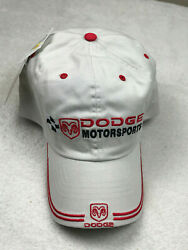 Dodge Racing Motorsports Ram Embroidered Baseball Golf Hat Putty Adjustable NEW $7.95
