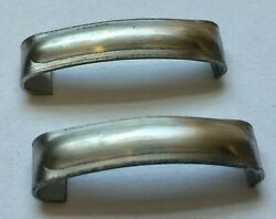 1935 1936 Ford Car And Trucks Windshield Frame Joint Cover Pair Ss Free Ship